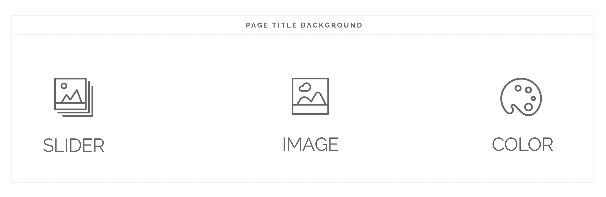 Page Title Background